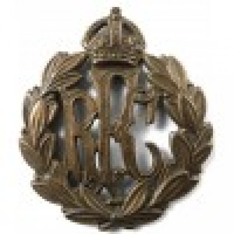 Royal Flying Corps Brass Cap Badge